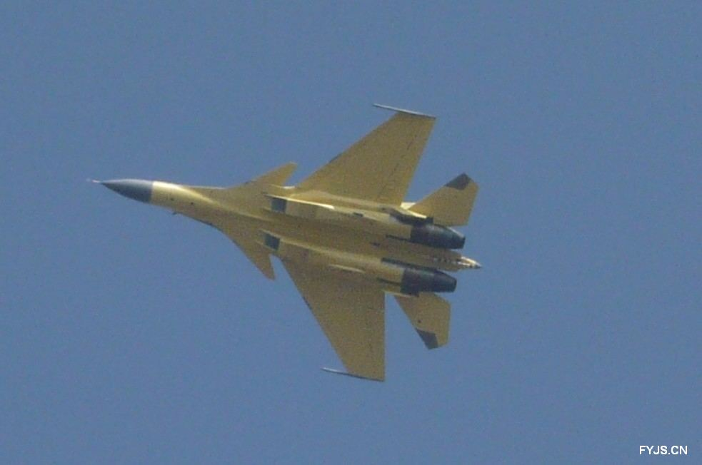 second Shenyang J-15 carrier-borne fighter was spotted flying at the ...