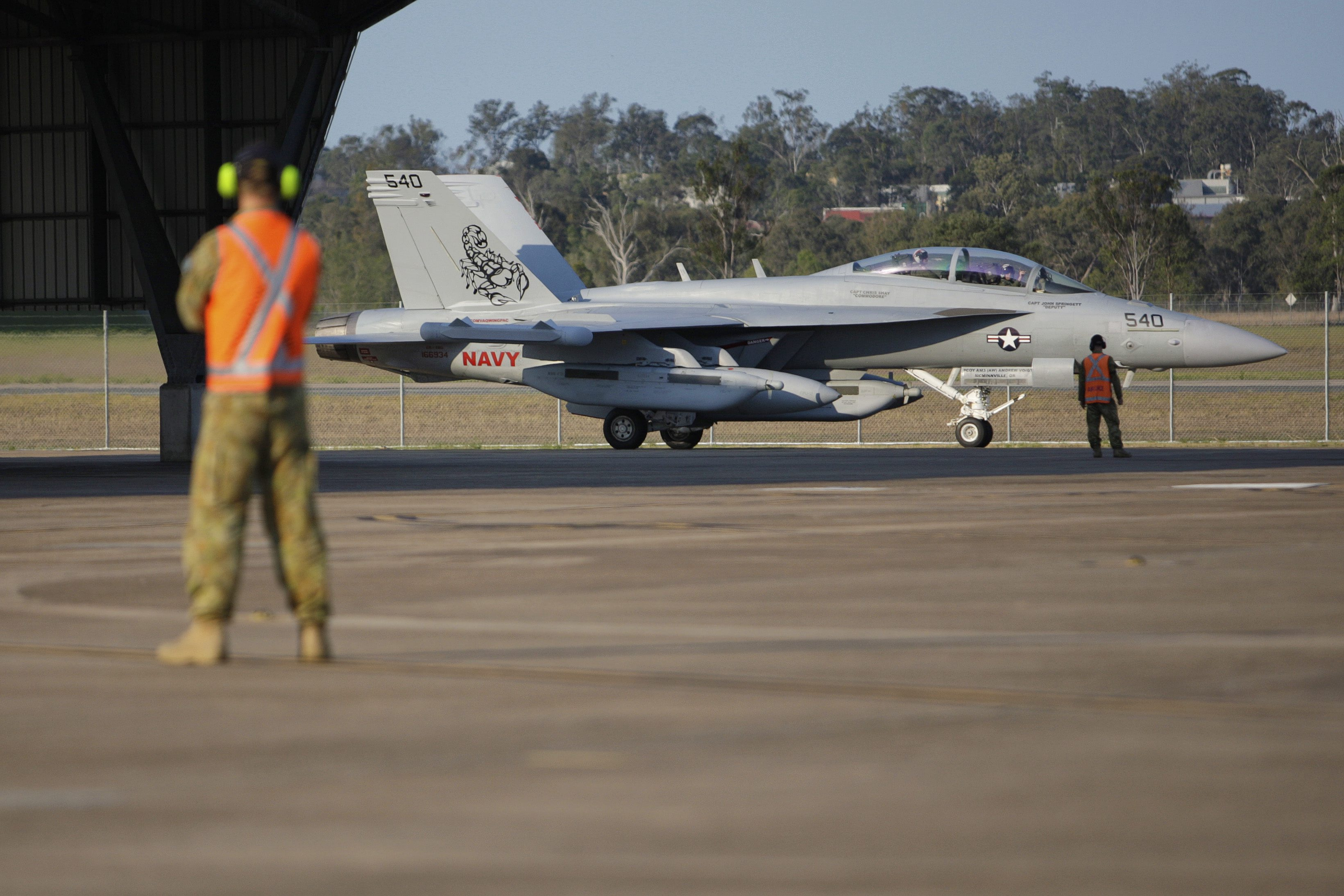 Three EA-18Gs from VAQ-132 have deployed to RAAF Base Amberley for ...