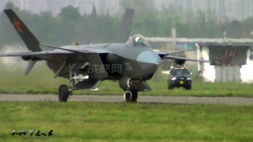 China's new stealth fighter's missile launch rails prove Beijing