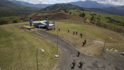 US Marines demonstrate capabilities to Malaysian Armed Forces