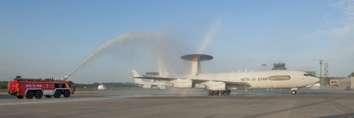 A historic event - First NATO E-3A aircraft to retire