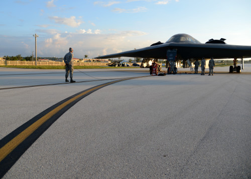 B-2 deployment: Teamwork, Sorties, Success