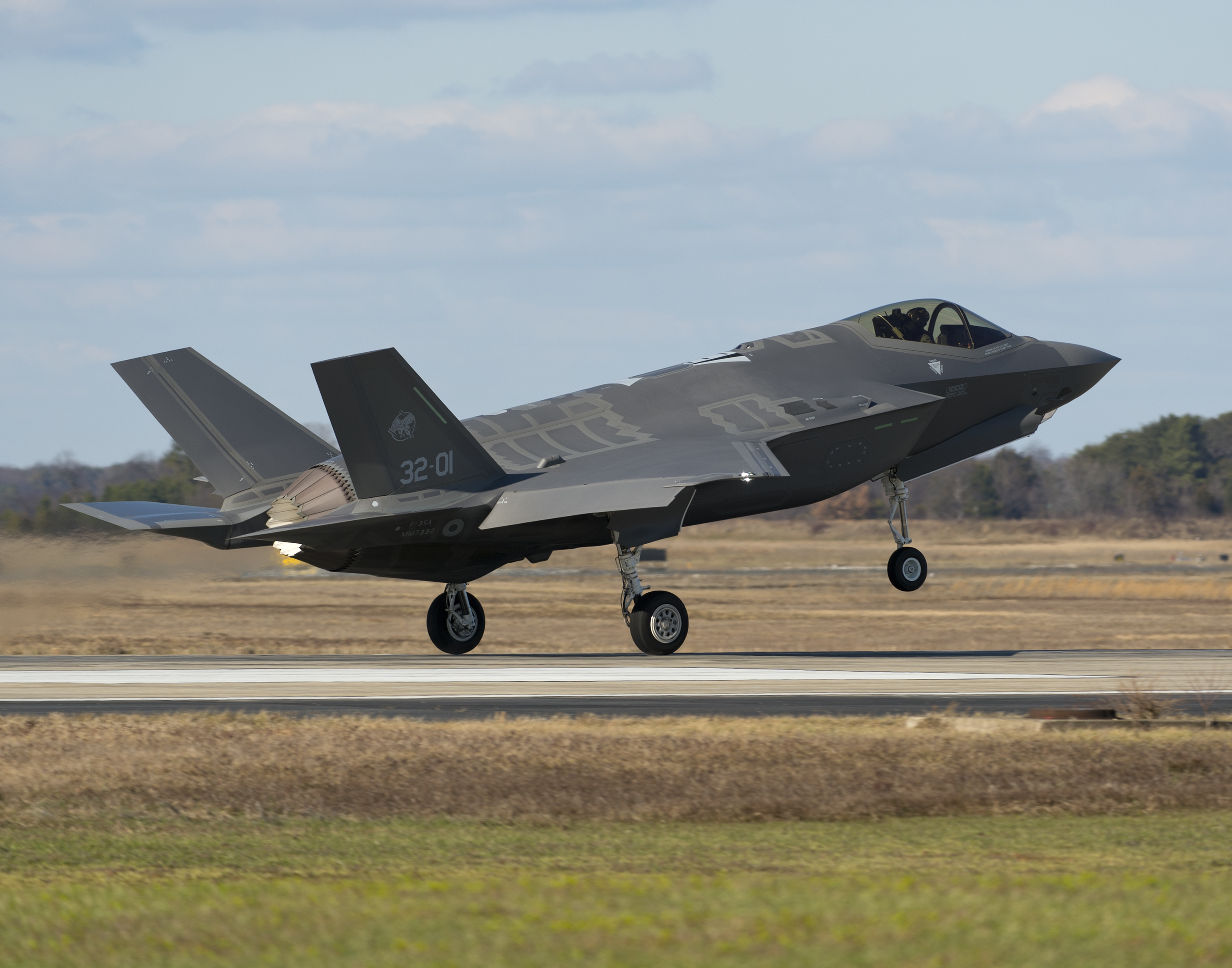 Alert 5 » 25 images from the first F-35A transatlantic