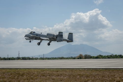 PACAF A-10s, HH-60s fly first Air Contingent missions in Philippines