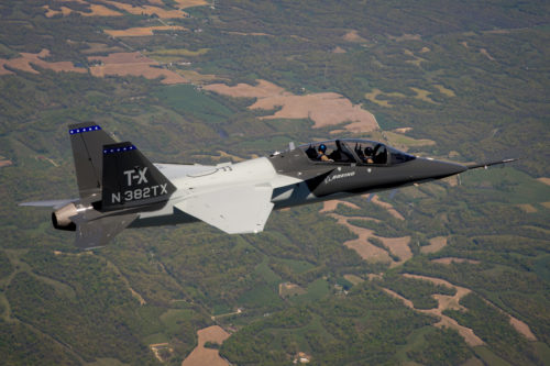 T-X T2 First Flight