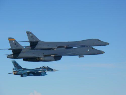U.S. bombers conduct bilateral mission with allies in response to North Korea ICBM launch